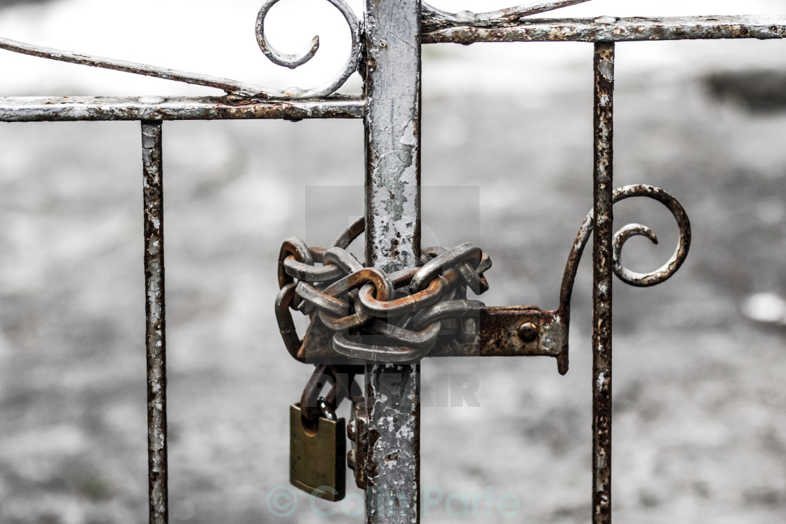 """Locked"" stock image"