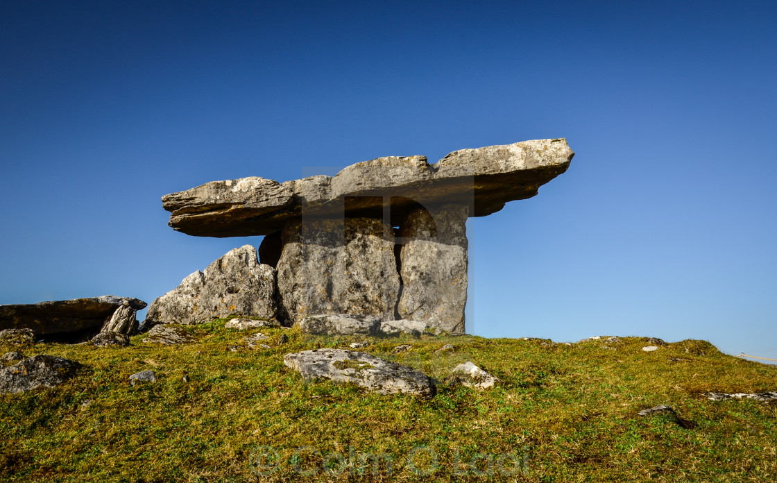 """Poulnabrone"" stock image"