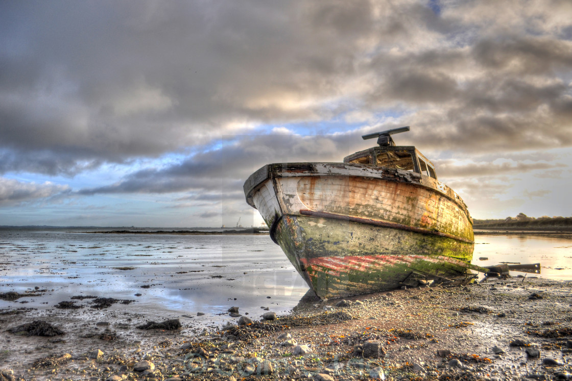 """The boat"" stock image"
