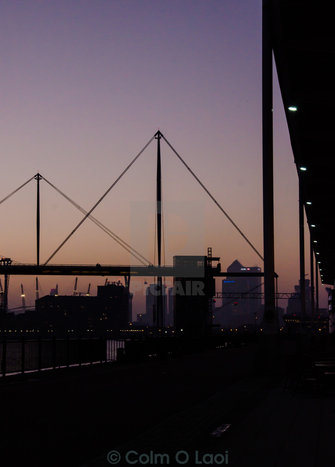 """""""Docklands"""" stock image"""