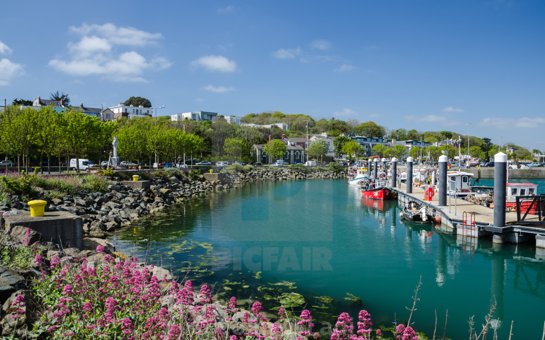 """Howth Harbour"" stock image"