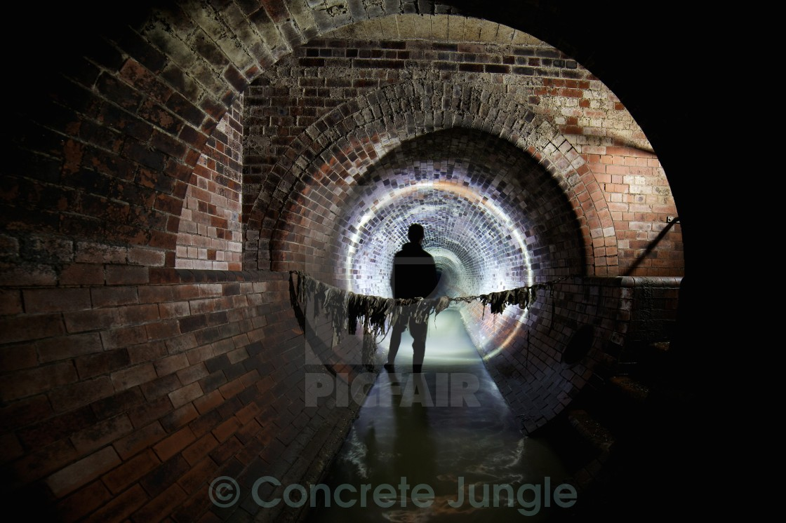 """Intercepting Sewer"" stock image"