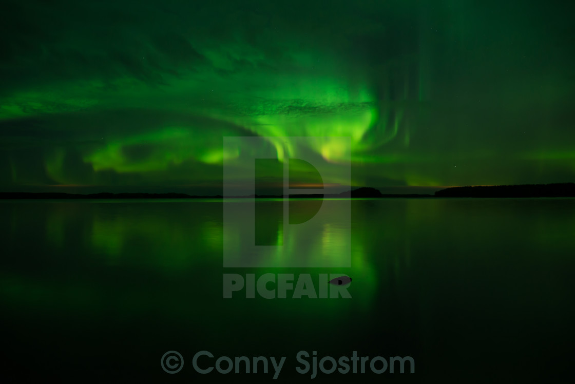 """Northern lights"" stock image"