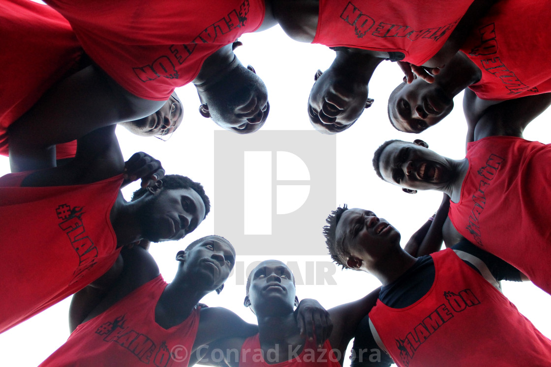 """Basketball team Lin Kuei"" stock image"