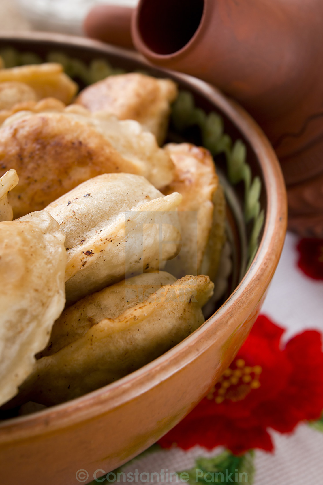 """Pierogi national food popular in Poland"" stock image"