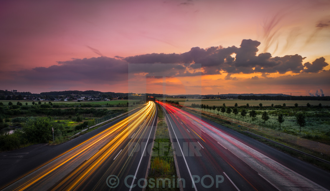 """Highway"" stock image"