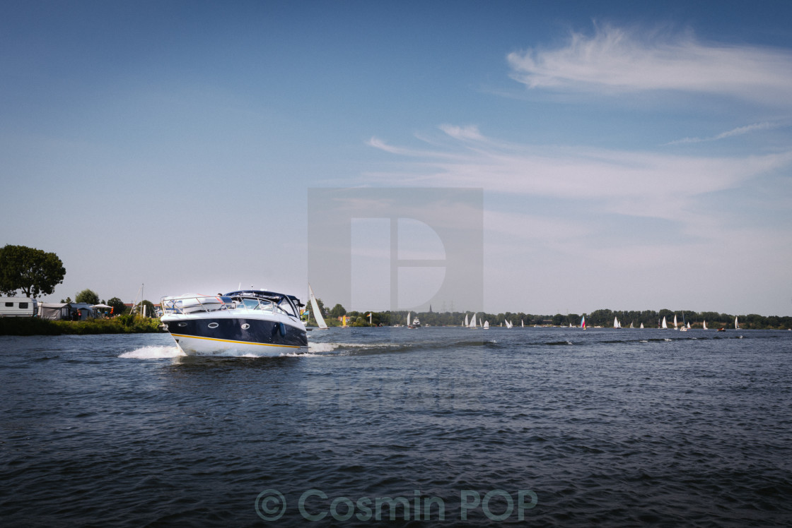 """Speedboat"" stock image"
