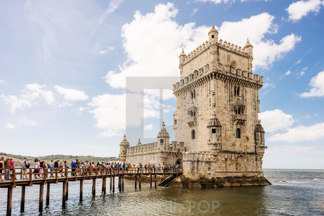 """Belém Tower"" stock image"