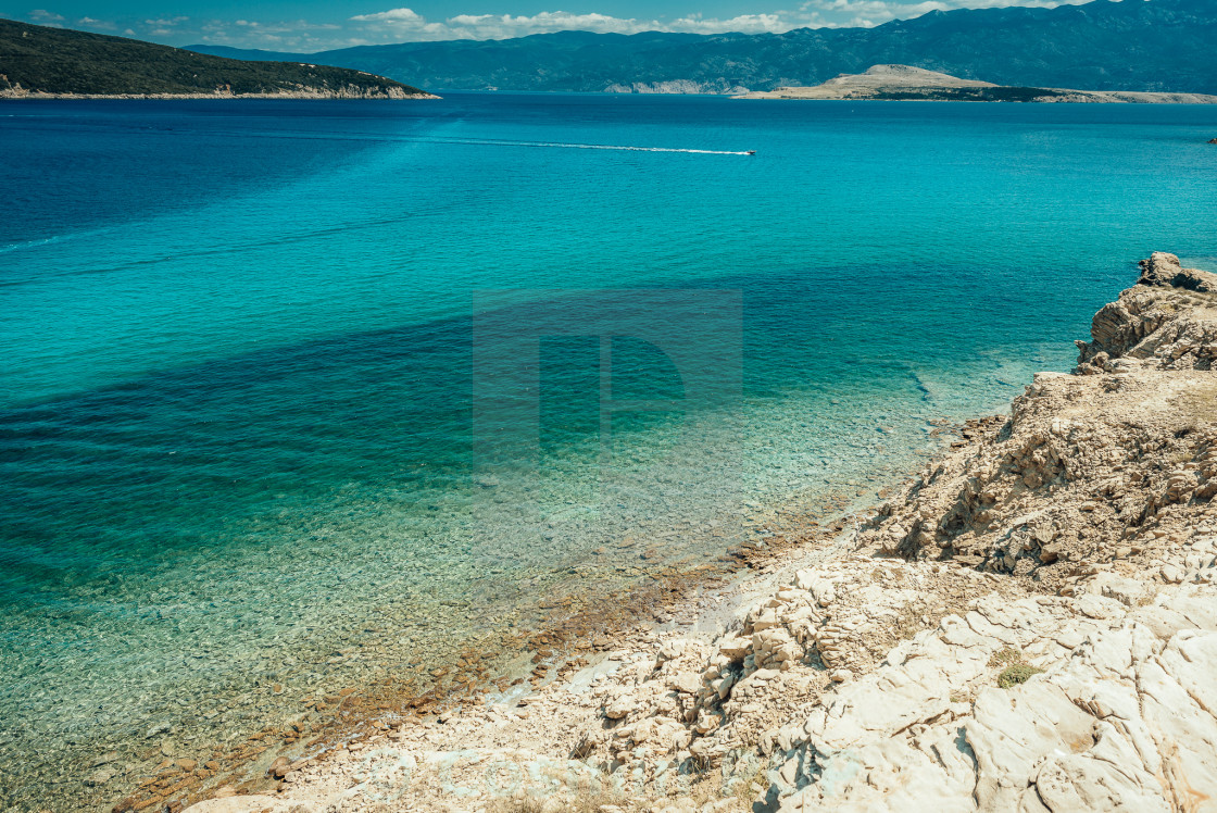 """""""Blue water"""" stock image"""