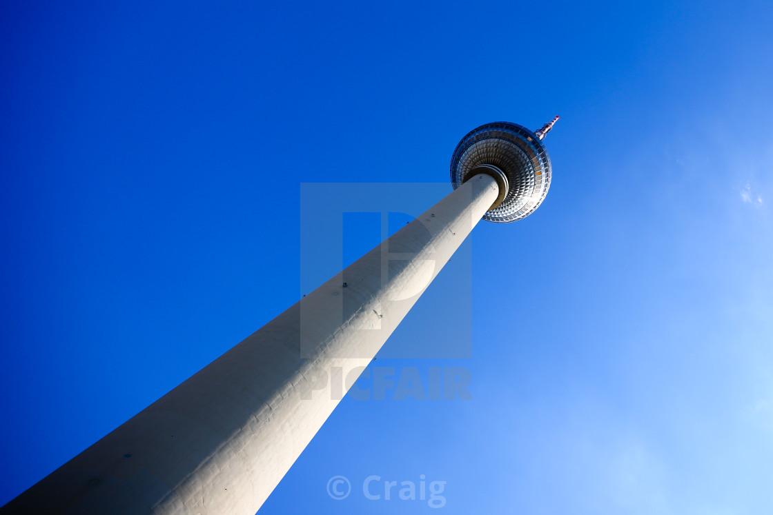 """Berlin TV Tower"" stock image"