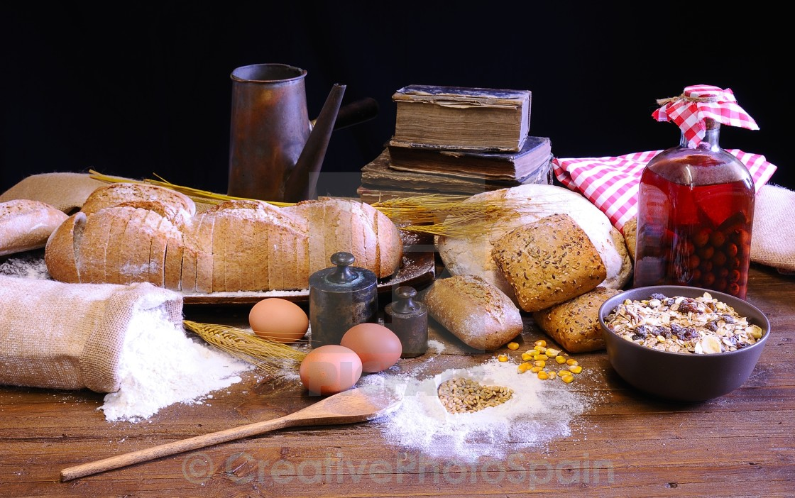 """Bakery."" stock image"