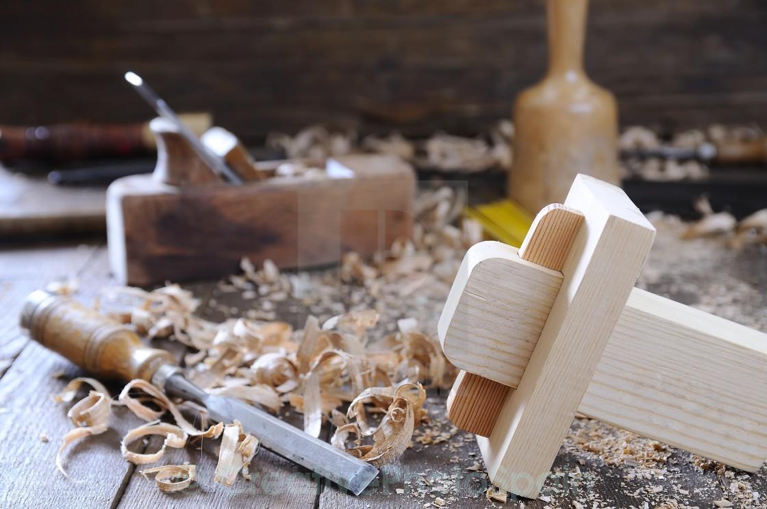 """""""Carpenter tools."""" stock image"""