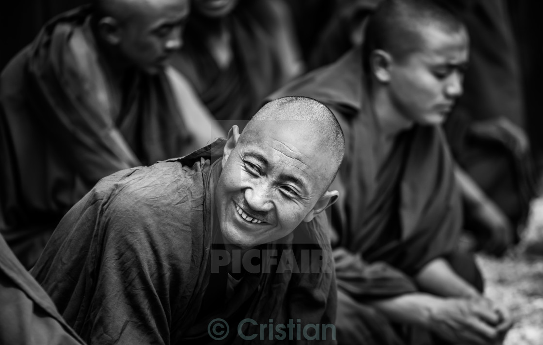 """Monk"" stock image"