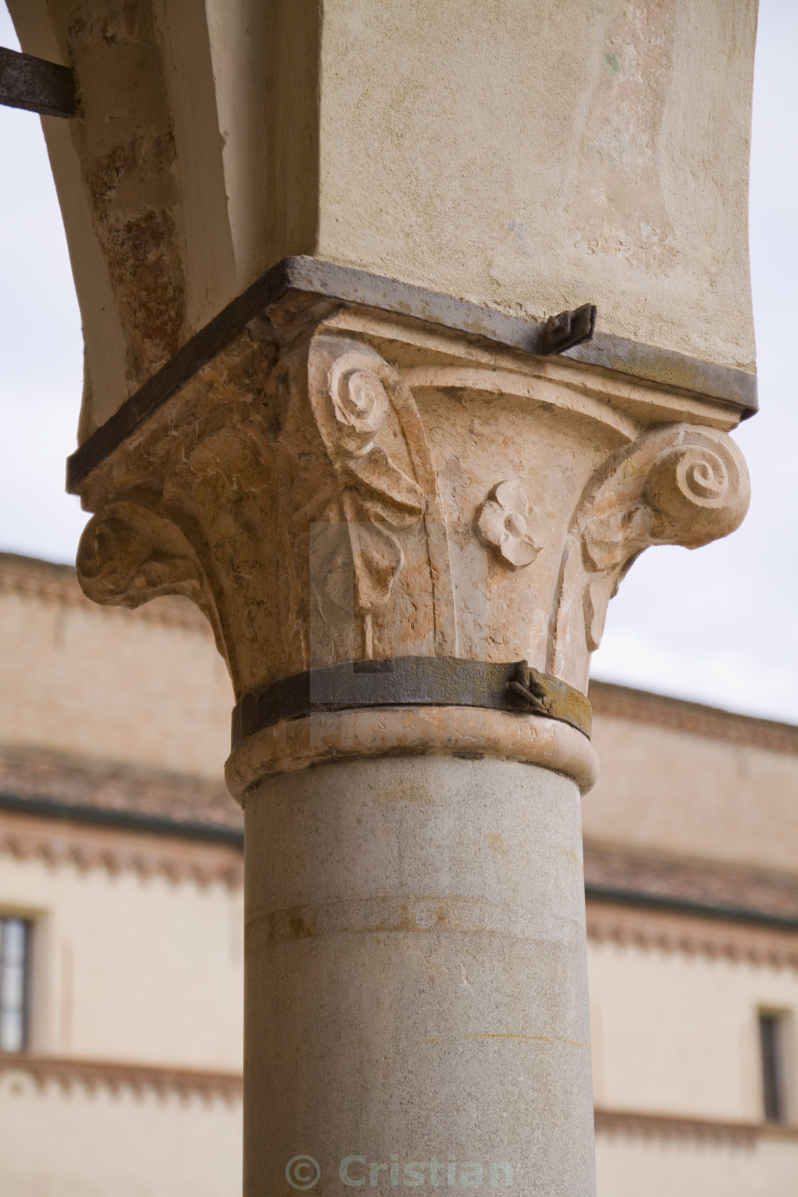 """Column and archit capital"" stock image"
