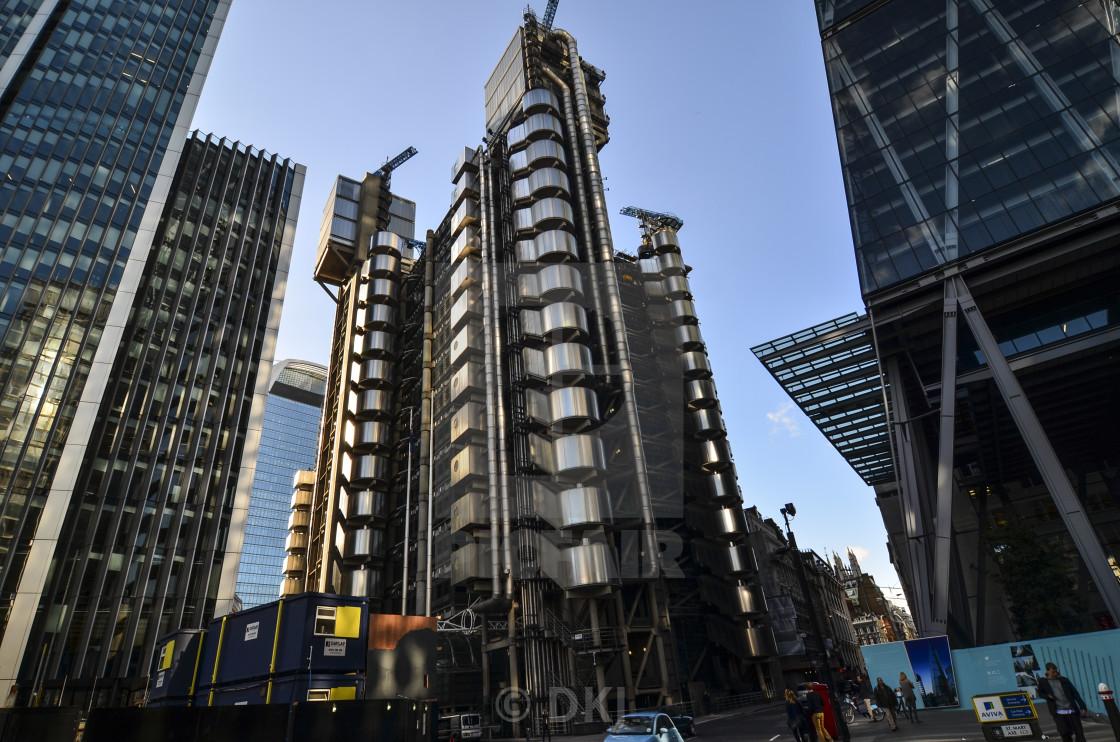 """Lloyd's of London"" stock image"