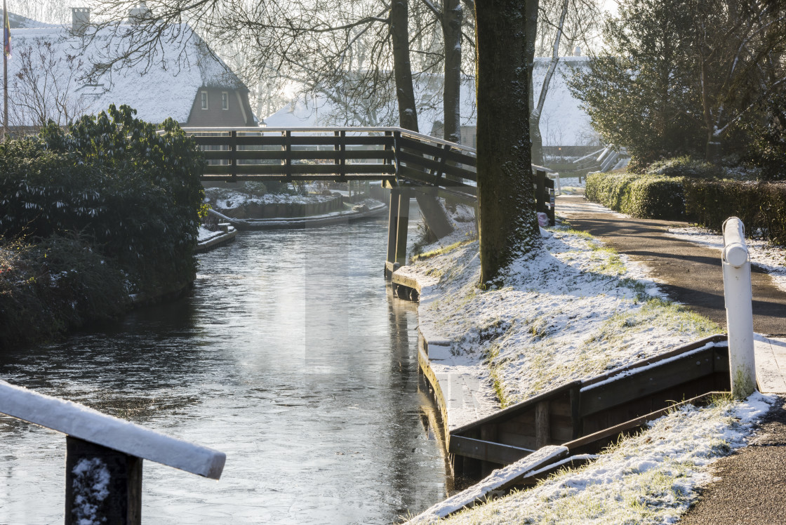 Winter In Cold Giethoorn License Download Or Print For 8 68
