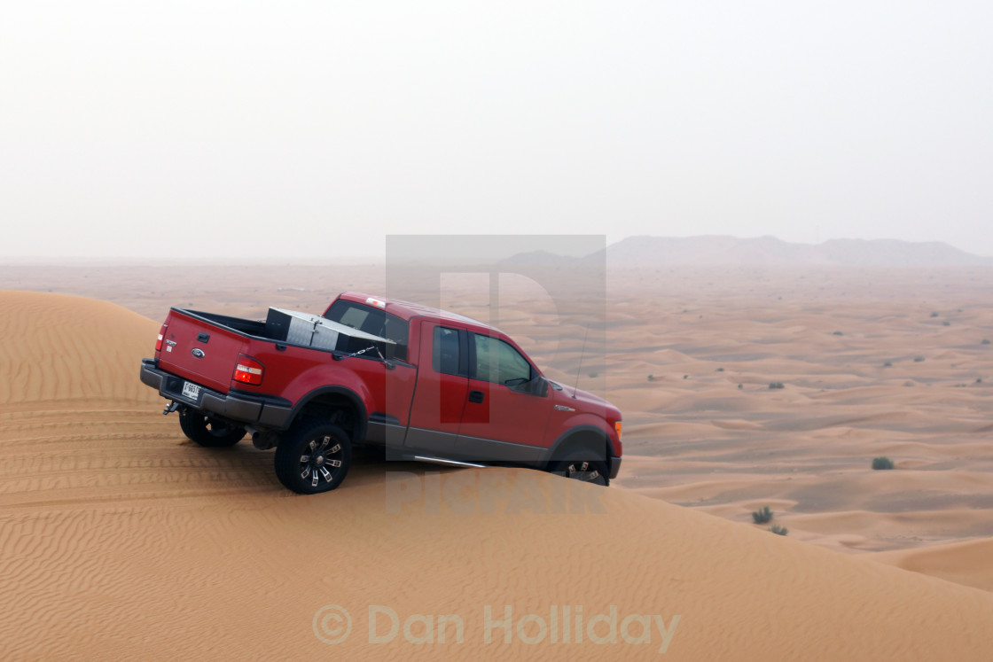"""Dune Bashing"" stock image"