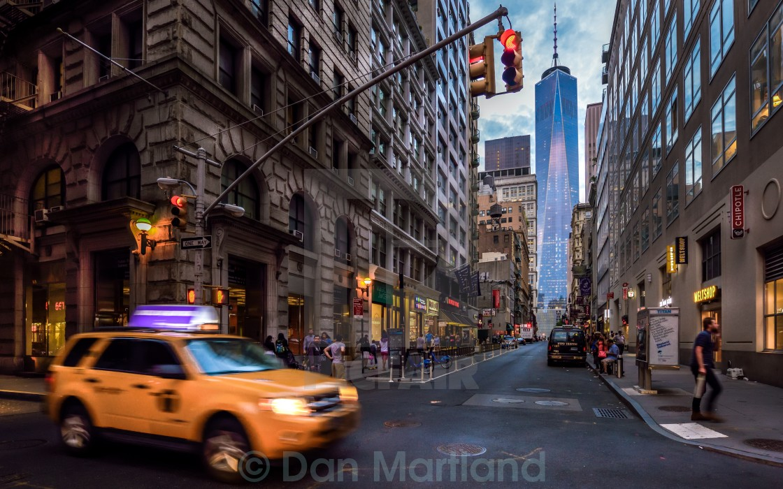 """Lower Manhattan"" stock image"