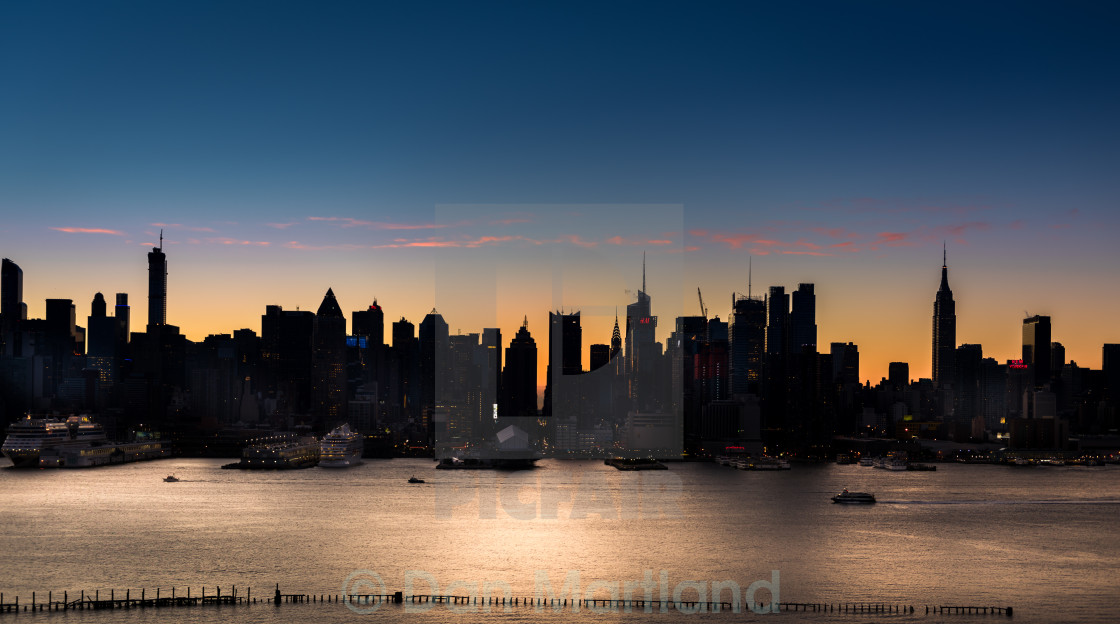 """And a Very God Morning NYC"" stock image"