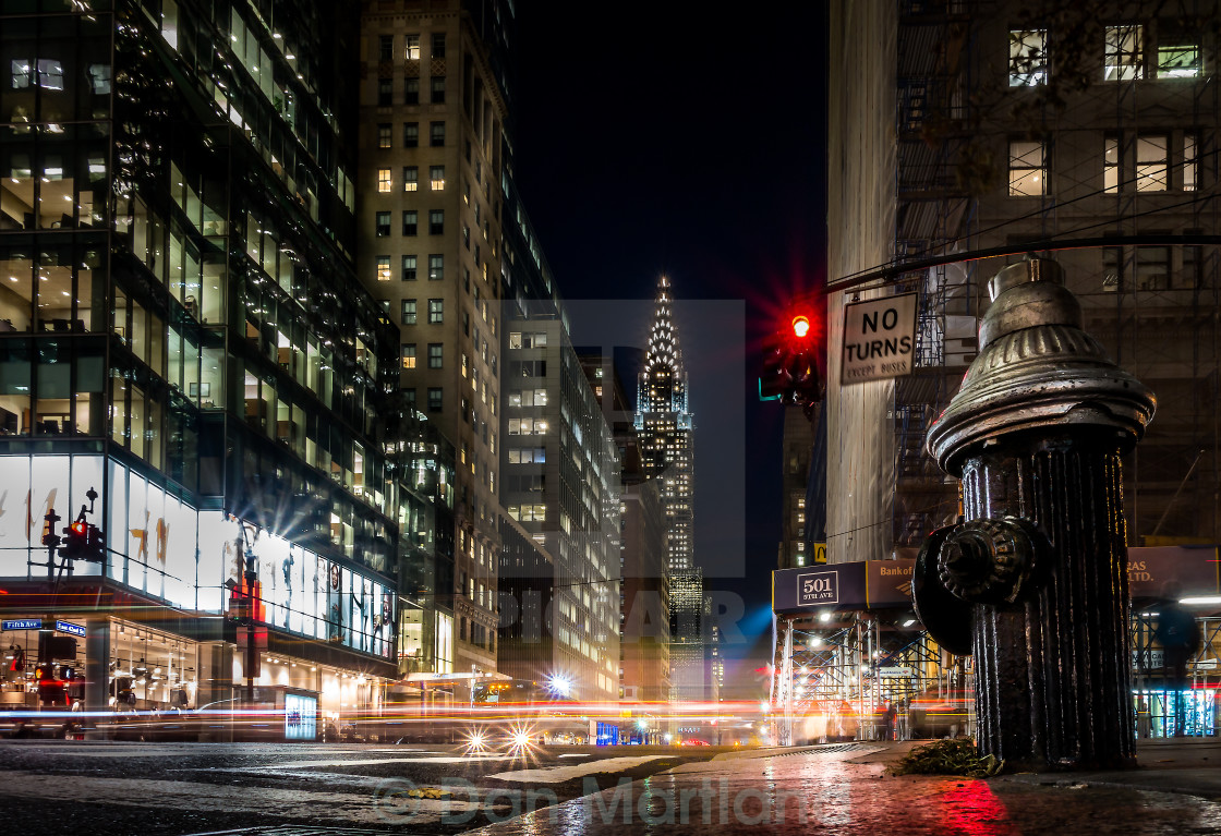 """New York City Streets"" stock image"
