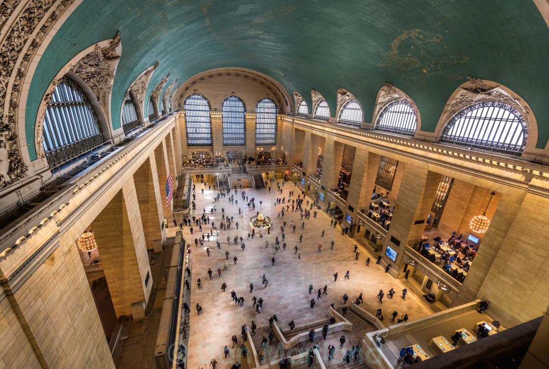"""Busy Cummuters Grand Central Terminal"" stock image"
