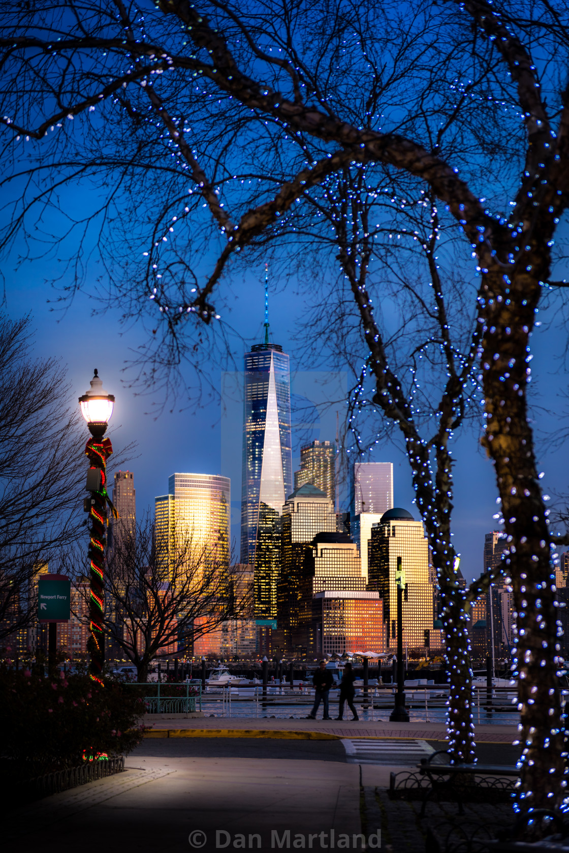 """A New York Christmas"" stock image"