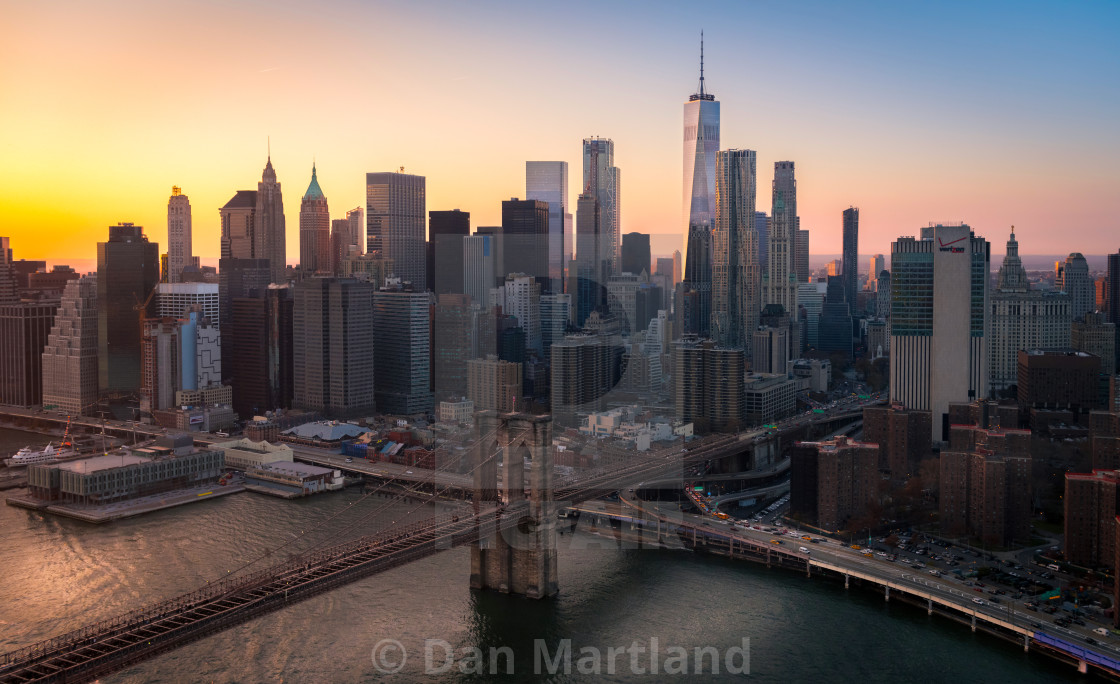 """Financial District NYC"" stock image"