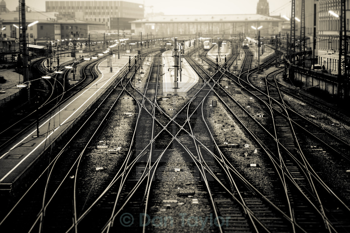 """Train Station"" stock image"