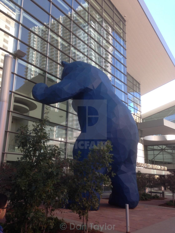 Denver Blue Bear License Download Or Print For 6 20