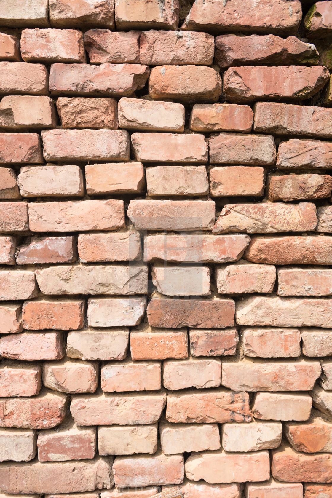 Irregular Red Brick Wall Background License Download Or Print For