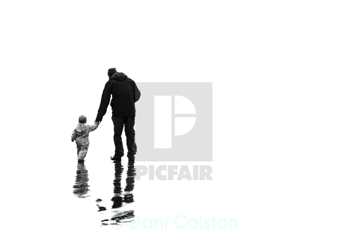"""father & daughter"" stock image"
