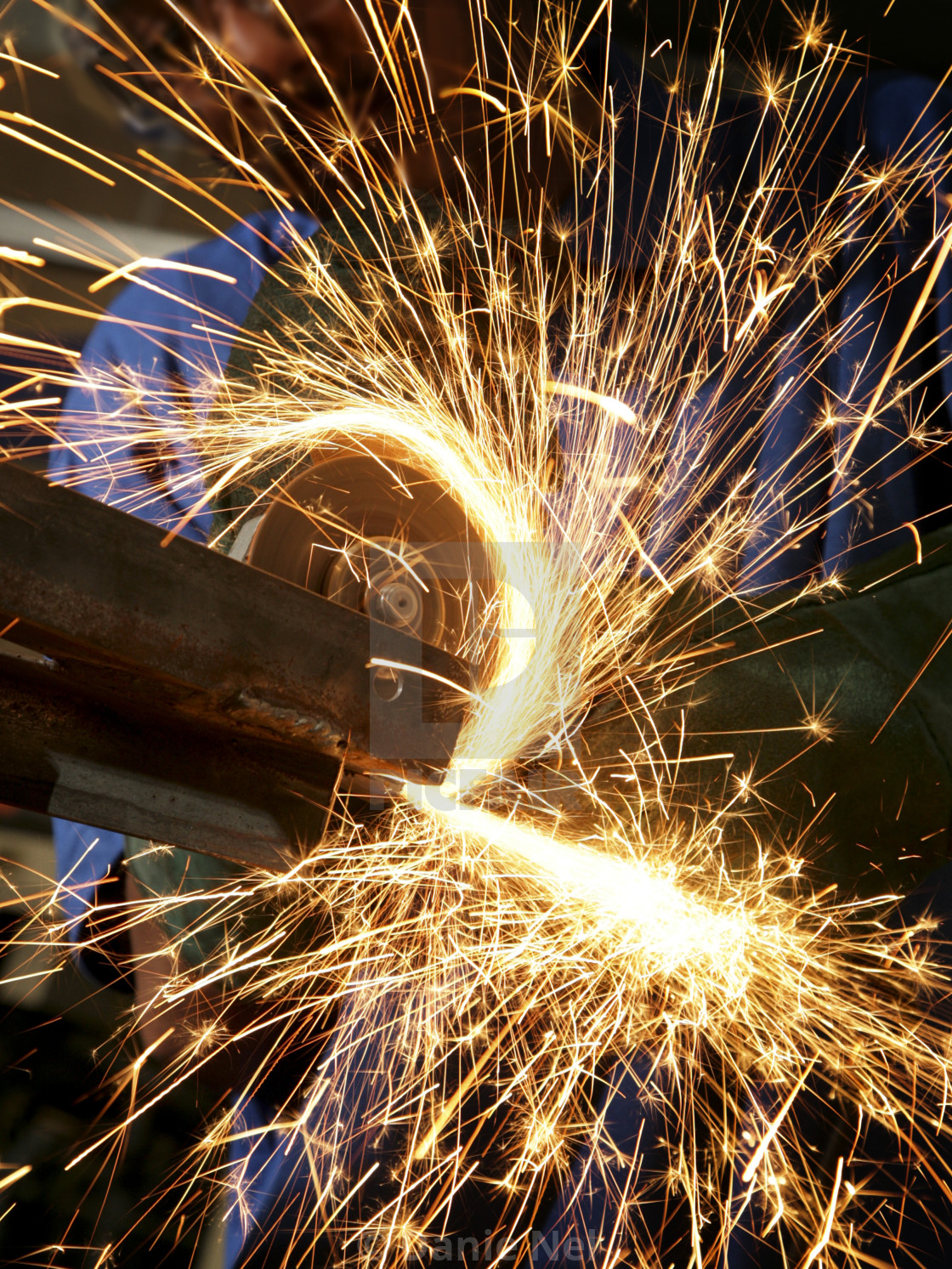 """Metalworker"" stock image"