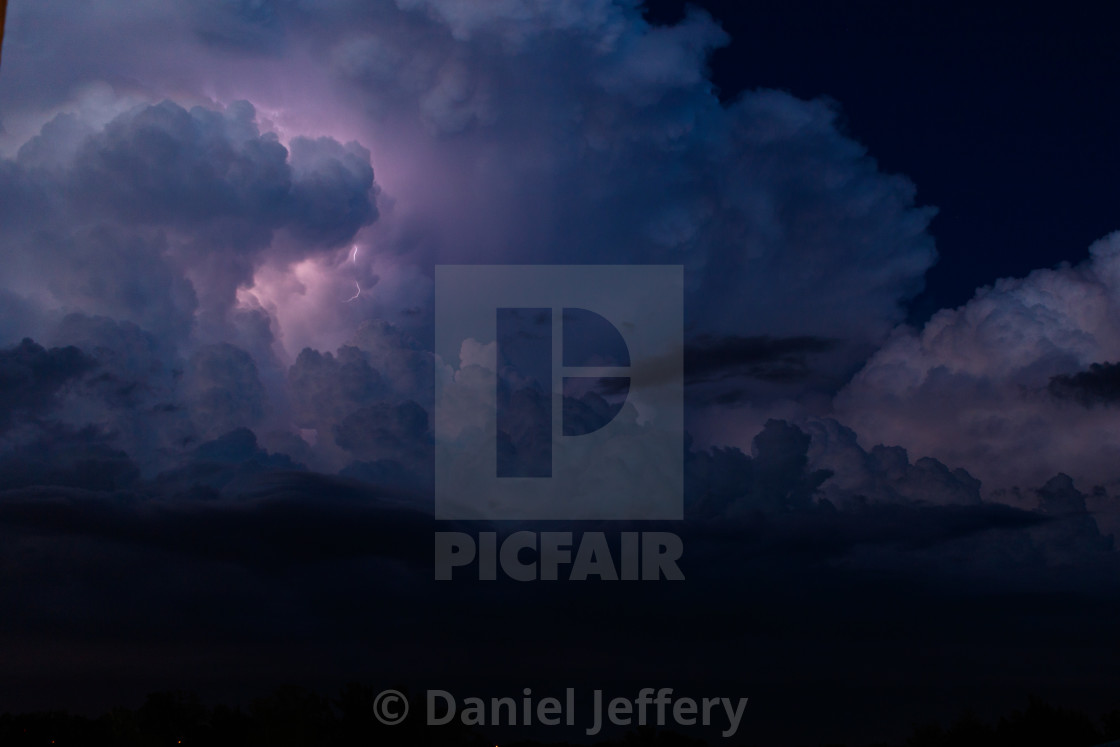 """Night Storm"" stock image"