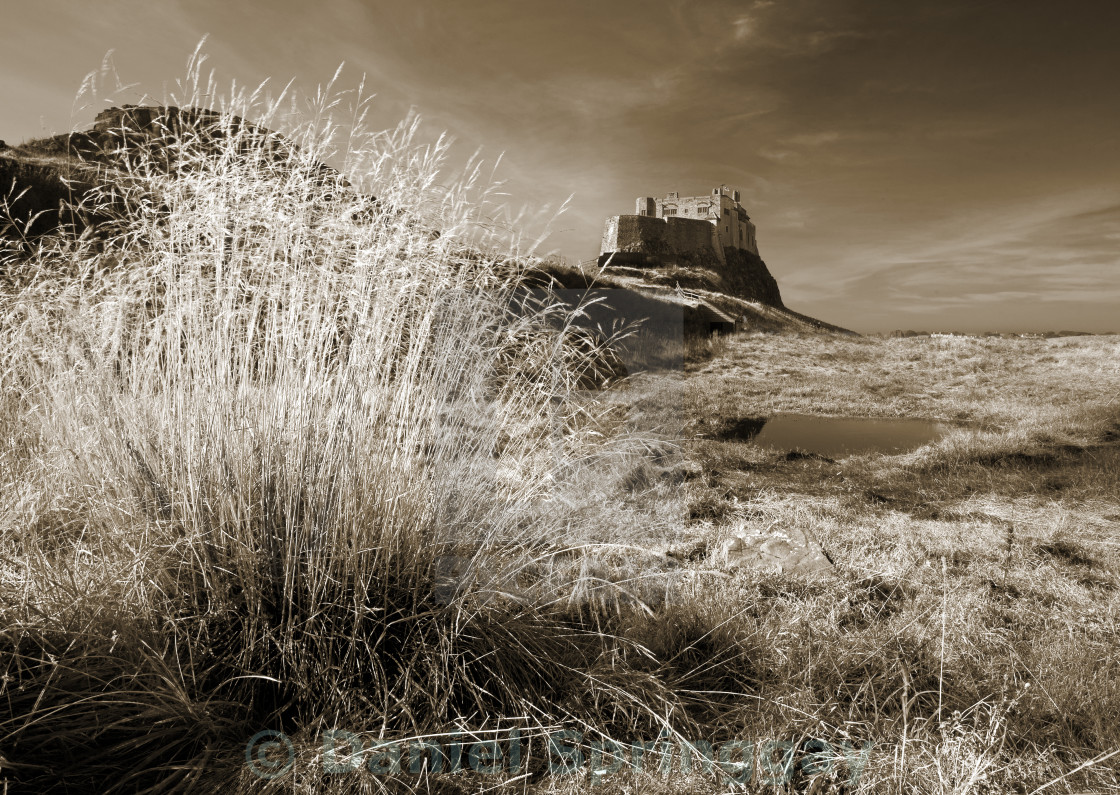 """Holy Island"" stock image"