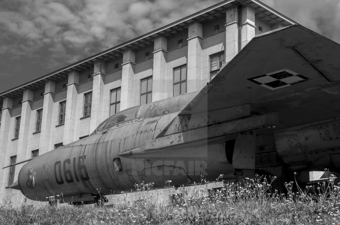 """MiG-21 Fishbed"" stock image"