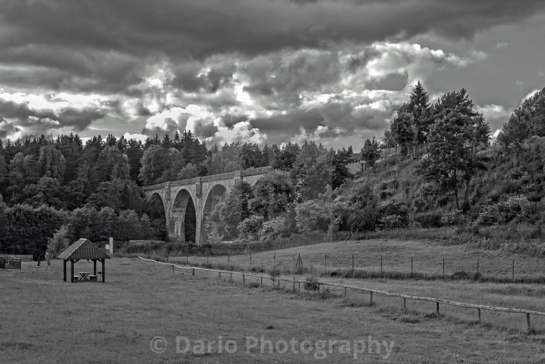 """""""Railway bridges"""" stock image"""