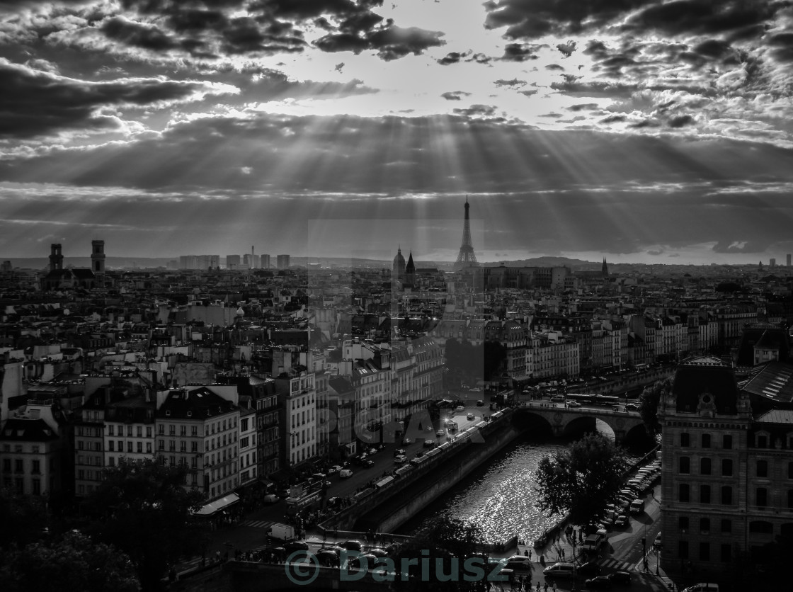 """Paris view"" stock image"