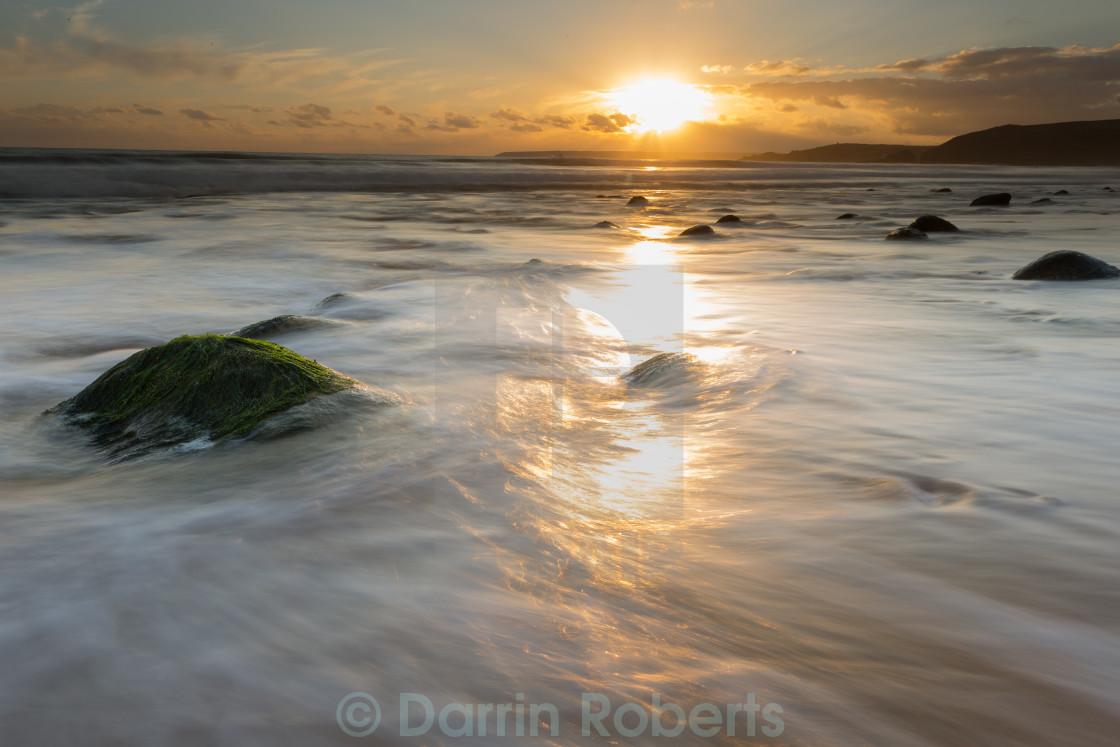 """Praa Sands Cornwall"" stock image"