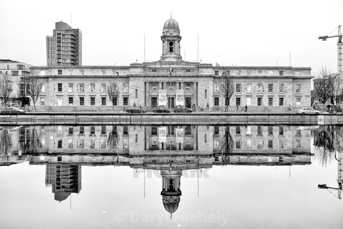 """Cork City Hall"" stock image"