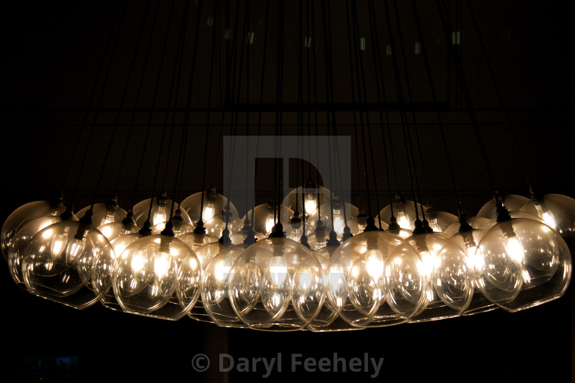 """Glass Lights"" stock image"