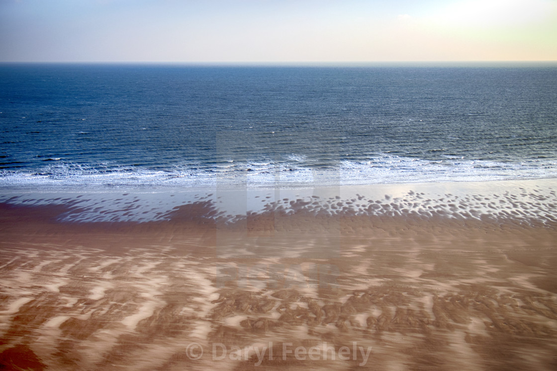 """Oxwich Bay Beach"" stock image"