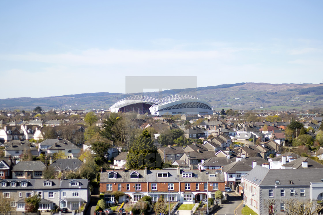 """Thomond Park"" stock image"