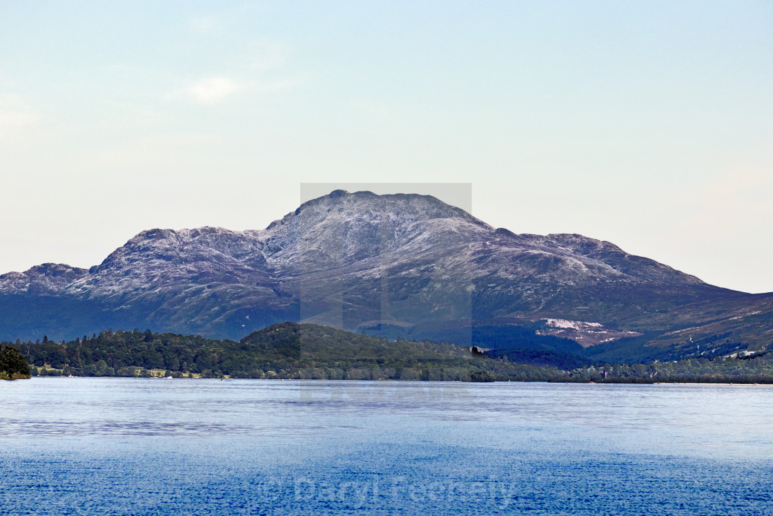 """Ben Lomond"" stock image"