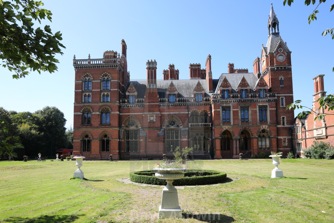 """Kelham Hall"" stock image"