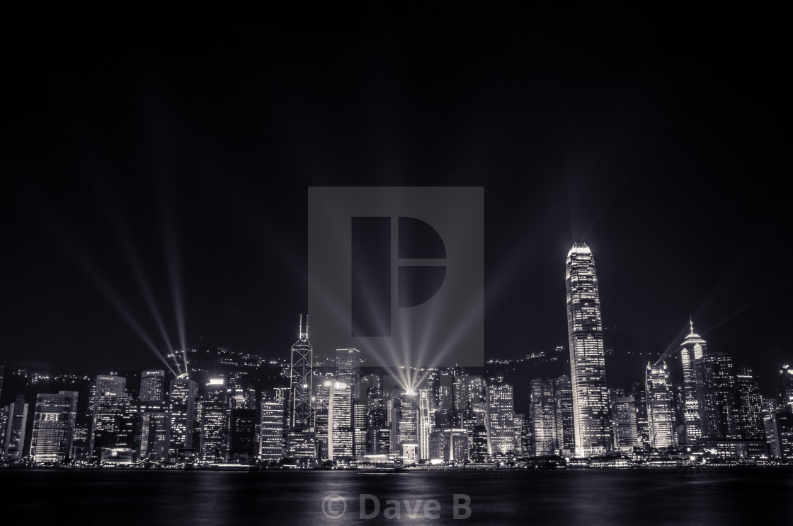 """A Symphony of Lights"" stock image"