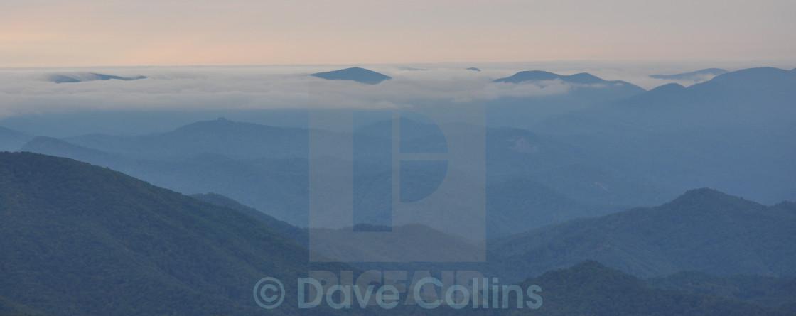 """""""The Mountains of Georgia, USA"""" stock image"""