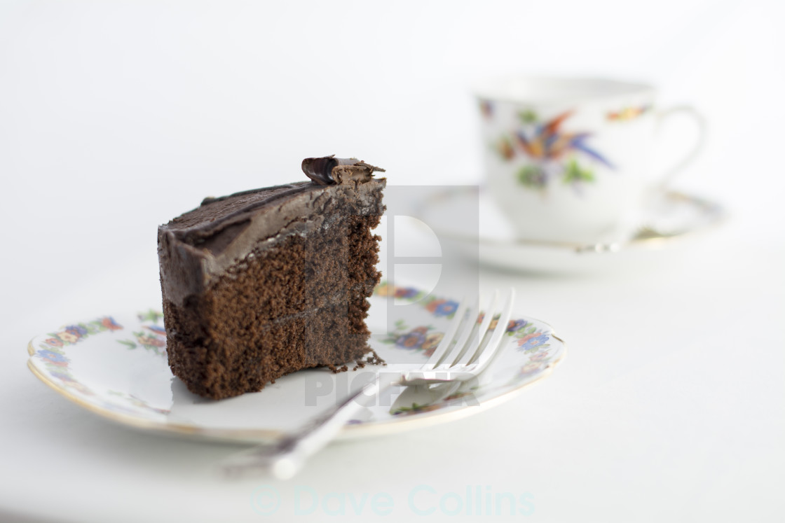 """Chocolate Cake"" stock image"