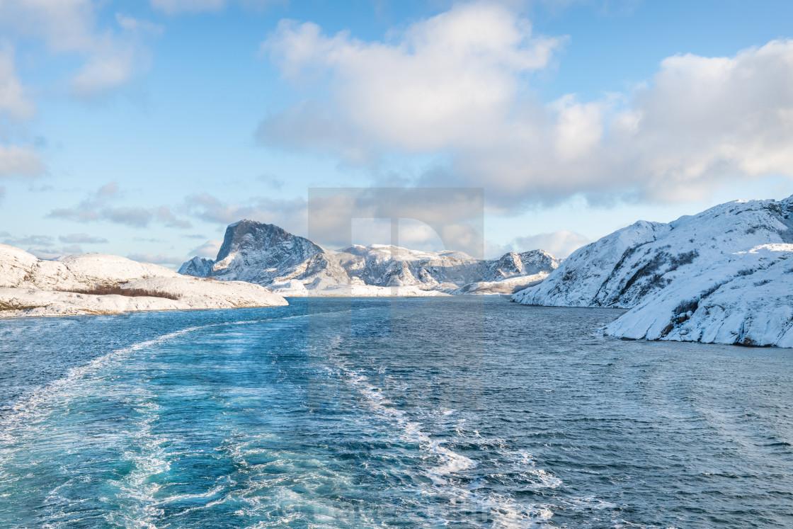 """Winter in Norway"" stock image"