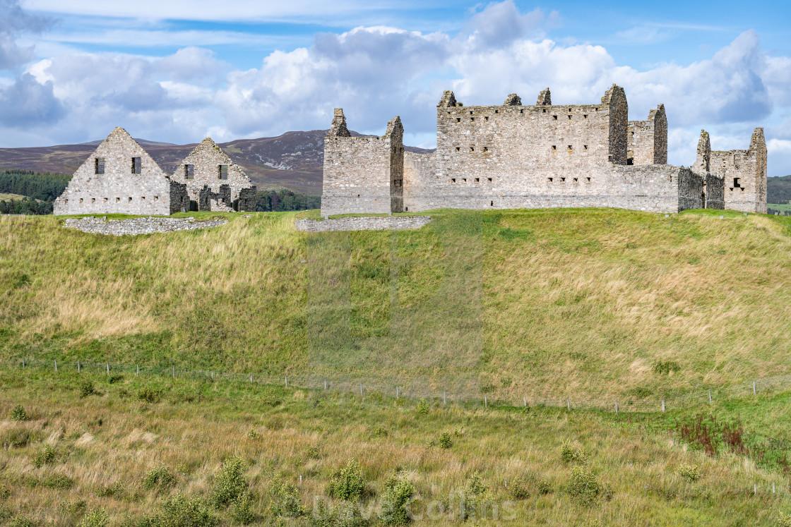 """Ruthven Barracks, Badenoch, Scotland"" stock image"