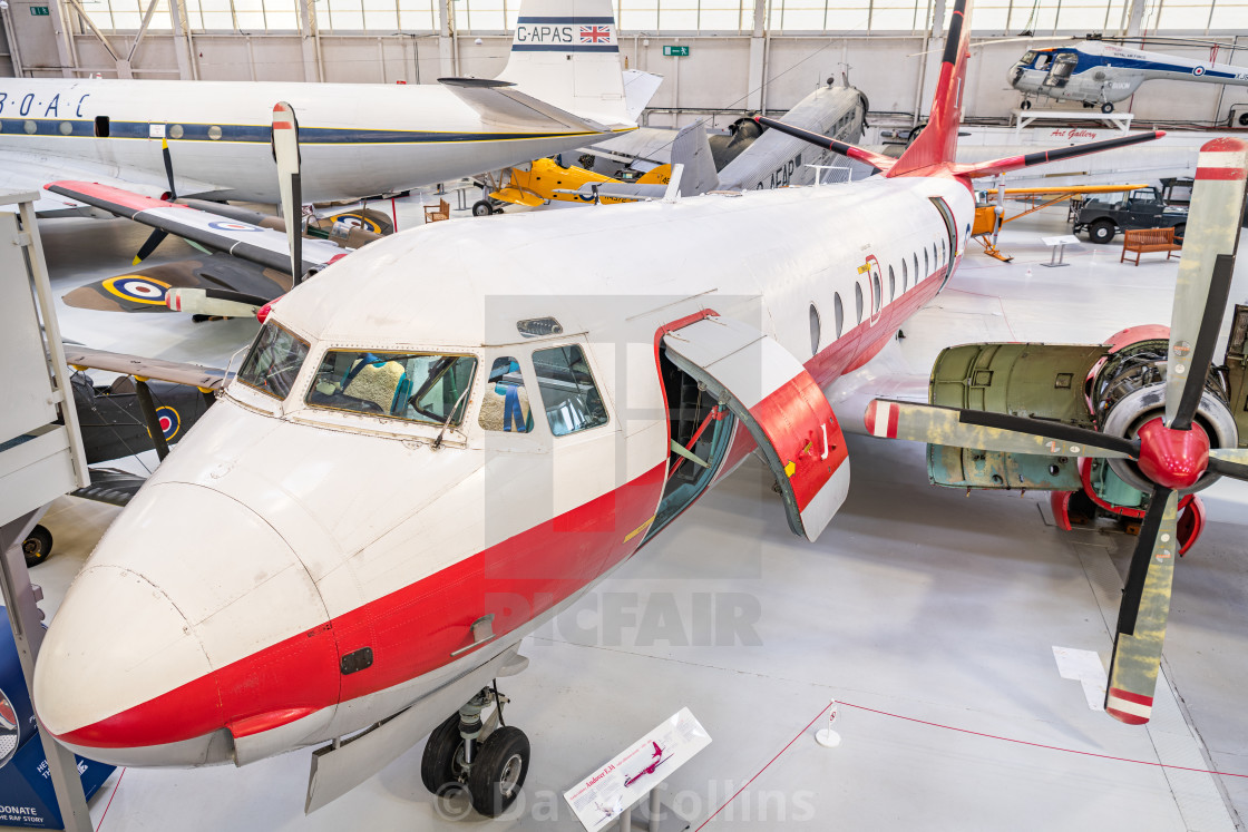 """Hawker Siddeley Andover E3A, RAF Museum, Cosford"" stock image"